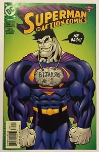 Superman In Action Comics #785 (Jan 2002, DC) VF Condition Bizarro
