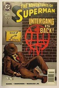 Adventures of Superman #544 (Mar 1997, DC) FN/VF Condition