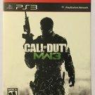 Playstation 3 Call of Duty MW3 Blockbuster Artwork Display Card