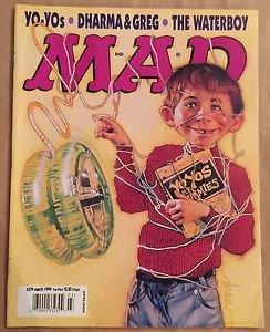 MAD #379 (Mar 1999, EC) Yo-Yos Parody Cover