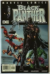 Black Panther #35 (Oct 2001, Marvel) VF Condition  The Defenders