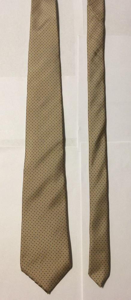 Marshall Field's Dot Pattern Silk Silk Necktie Tie