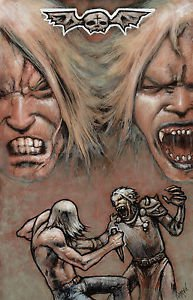 Chronicles of Van Helsing Brother VS Brother 11x17 Inch Poster by Tony Morgan