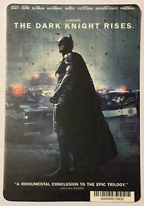 The Dark Knight Rises Blockbuster Artwork Display Card