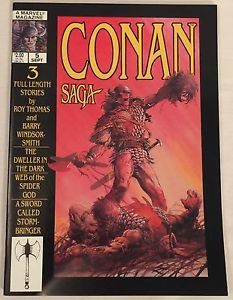 Conan Saga #5 (Sep 1987, Marvel) VG/FN Condition Comic Magazine