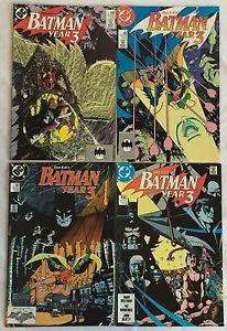 Batman Year 3 Complete 4 Issue Storyline 436 437 438 439