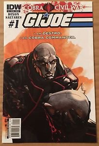 G.I. Joe #1 (May 2011, IDW) 2nd Series Cover B Destro