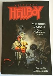 The Bones of Giants by Christopher Golden (2004, Paperback) Mike Mignola Artwork
