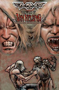 Chronicles of Van Helsing #5 Vampire Comic Book by Darkslinger Comics