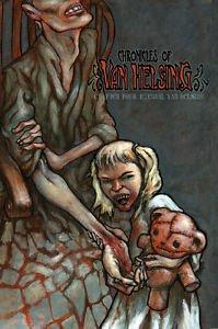 Chronicles of Van Helsing #4 Vampire Comic Book by Darkslinger Comics