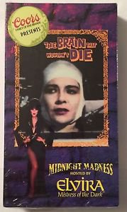 Coors Presents The Brain That Wouldn't Die Midnight Madness Hosted By Elvira NEW
