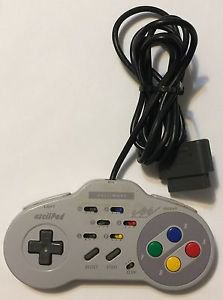 Super Nintendo Asciiware 4900 Wired Controller SNES
