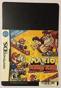 Nintendo DS Mario VS Donkey Kong Mini-Land Blockbuster Artwork Display Card