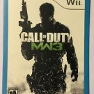 Nintendo Wii Call of Duty MW3 Blockbuster Artwork Display Card