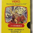 Masters of the Universe A Golden Book Video VHS He-man Rock Warriors Demons Deep