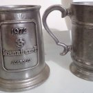 Pewter Steins, RWP Wilton, Vintage, Lot of Two