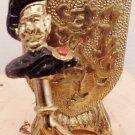 Brass, Armor Shield, Gent Bottle Opener, Two Piece, Vintage