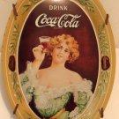 Coca Cola Metal Tip Tray Vintage