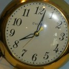 United Electric Watch Style Wall Clock, Glass Face, Vintage Working