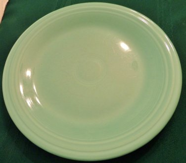 "Vintage 10"" Fiesta Plate. Light Green. Homer Laughlin"