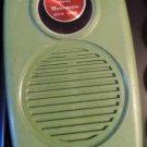 Westminster. Transistor Radio. Solid State. Olive Green. Works. Vintage