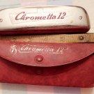 Harmonica, Chrometta 12, M. Hohner, Vintage, Germany
