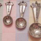 Princess Four Piece Metal Measuring Spoon Set