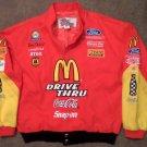 McDonalds Bill Elliott Nascar Winston Cup Series Racecar Advertising Jacket