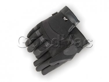 MAJESTIC 2137BK Mechanics Synthetic Leather Armor Skin Work Gloves XXL