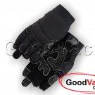 MAJESTIC 2122 Mechanics Synthetic Friction Grip Fingerless Work Gloves XXL