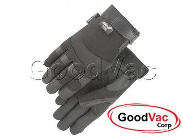 Majestic 2139BK Mechanics Synthetic Armor Skin Leather Work Gloves - Medium