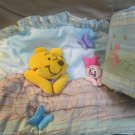 Disney Baby Bumper Winnie the Pooh Crib Decor 3 D Headboard Pad by Crown Crafts