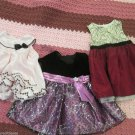 Girls 12 mos Three Beautiful Wedding Fancy Party Dresses Love Rare Editions Plus