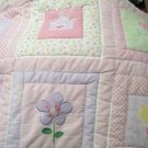 Circo Baby Crib Quilt Little Princess Flowers Crown Wand Butterfly Moon and Star