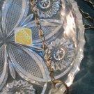 Vintage Otco Genuine Lead Crystal Made Western Germany Hanging Dish