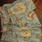 Handmade Two Pocket Apron Vintage Cotton Floral Material Great For Cookout or In