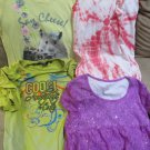 3 Justice Girl Tops Short Sleeve With Cute Coogi Top Sz 10 12 Be An Individual