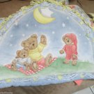 Boyds Bears Crib Sheets 2 pc Bumper by Dolly Wish On a Star Patti Reed Designs