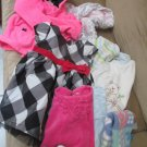 Girls Lot 3 to 12 Mos Clothing Shoes Dresses Gymboree Goodlad Carters Little Me