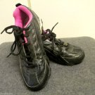 Youth Girls Rawlings Black Pink Soccer Baseball Softball Cleats Sz 2 Team Sports