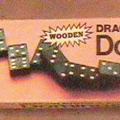 Vintage Wooden Halson Double Six Dragon Dominoes 1970 Milton Bradley