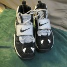 Nike Diamond Turf II White and Black  Children Shoes Size 3 Youth Athletic