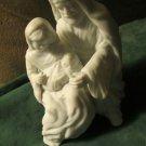 Hallmark Christmas Ornament Gods Gift of Love 1997 Nativity Joyce Lyle Bisque