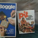Boggle Hidden Word Pit w Bell Frenzied Trading Games Parker Bros 1973-76