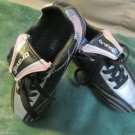 Youth Girls Brava Soccer Cleats Defender Sz.11 Black Pink Accent Cleats Sports