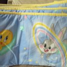 Baby Looney Tunes Sylvester Bugs and Tweety Crib Bumper Spring Industries