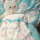 Baby Bubbles Judi Original Designer Decor Headboard Cover Dust Ruffle Chair Pad