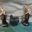 Two Vintage Avon Aftershave Bottles Bucking Bronco W Saddle Bottle 1970s