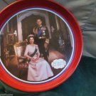 Collectible The Queens Silver Jubilee 1977 Decorative Metal Tray England