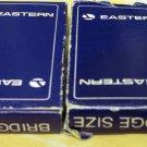 Two Vintage Decks Eastern Airlines Playing Cards Bridge Size Original